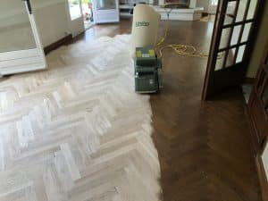 Rénovation parquet